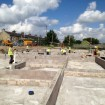 Substructure works to newbuild school
