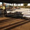 Floor slab preparation