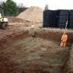 Underground surface water storage tanks