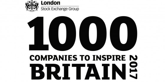 CS Civils & Groundworks awarded LSE '1000 Companies to Inspire Britain in 2017' status. -