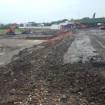 Bulk earthworks for pile mats
