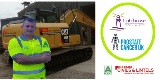 CS Civils & Groundworks Partners with Key Suppliers to Promote Two Major Charities -