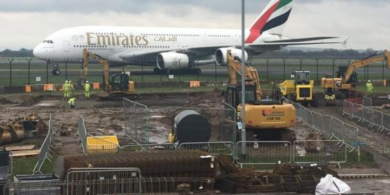 Works Commence on New VIP Terminal at Manchester Airport -